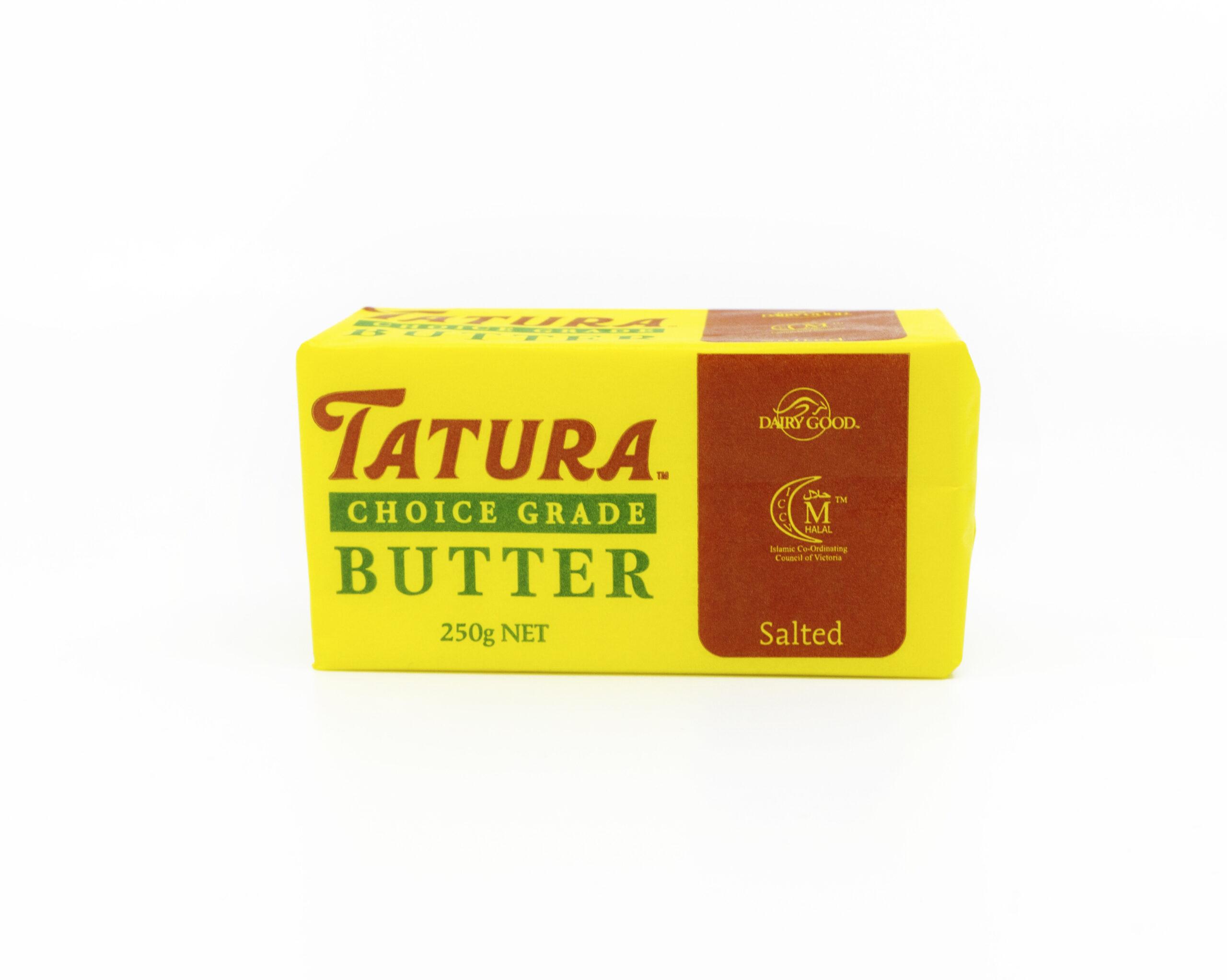 Tatura Butter Salted 250g Calendar Cheese Company